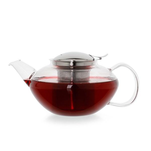 Bule de Vidro com Infusor Clever Duo Teapot 1.2L Moncloa