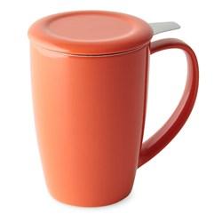 Caneca de Chá com Infusor Curvy Duo Mug 433ml Moncloa