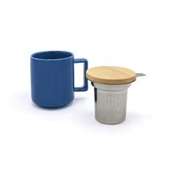 Caneca de Chá com Infusor Smug Duo Mug 350ml Moncloa