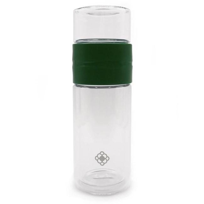 Garrafa de vidro com infusor Shift Duo Bottle 330ml