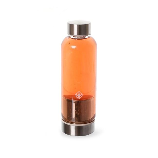 Garrafa de Vidro com Infusor Slim Duo Bottle 450ml Moncloa